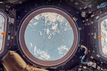Google Maps Street View : la Station spatiale internationale ISS présentée en 360 °