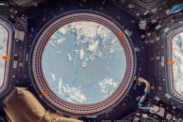 Google Maps Street View : la Station spatiale internationale ISS présentée en 360 °